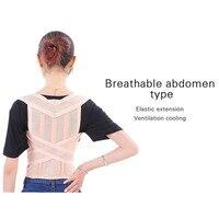Unisex Adjustable Back Posture Corrector Brace Back Shoulder Support Belt Posture Correction Belt for Men Women