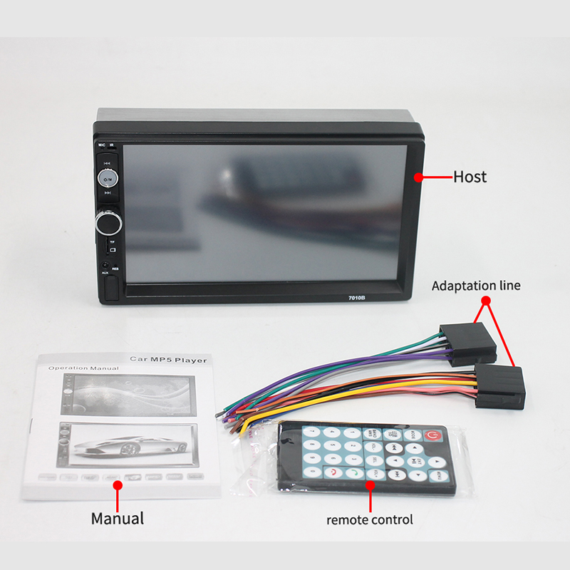 "Stereo Screen 7"" Touch"