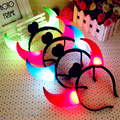 BabyKids Hairband Emitting Horn Hair Accessories Children luminous Horn Toy