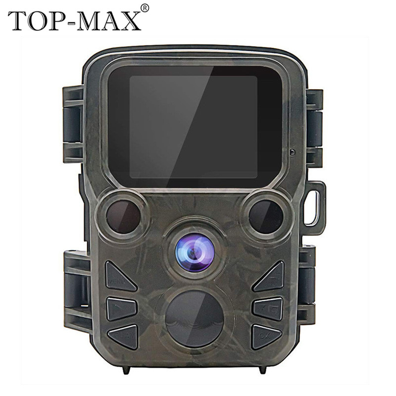 TOX-MAX Outdoor Waterproof Mini Hunting Trail Camera Wildlife Game Hunting Video Camera Tracker for Hunting and Home Security tactical hunting trail camera for outdoor sport os37 0034