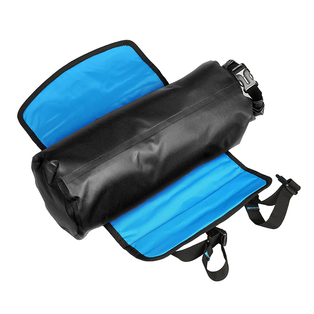 7L Waterproof Adjustable Capacity Bike Bicycle Cycling Handlebar Bag Pannier Detachable Dry Pack ATTACK Series 111369
