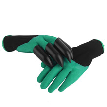 Universal Breathable Solid Color Garden Household Gloves Waterproof Non Slip Beach Protective Gloves For Digging