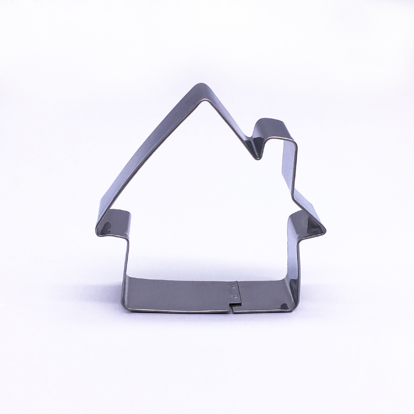 Wholesale 10 Pcs/lot House Shape Stainless Steel Cake Cookie Cutter, Fondant Cake Decorating Mold Tools