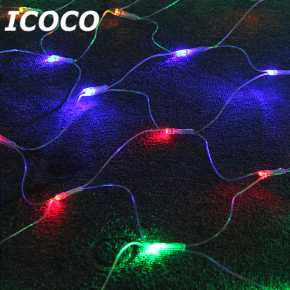 400 LEDs 1.9m Net Fairy Light with 8 Modes for Outdoor Fence Wall Tree Wedding Festival Decor Super Deal! Inventory Clearance inventory accounting