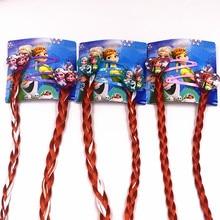 2Pcs/Set Kids Cartoon Lovely Princess Elsa Anna Hair Accessories BB Clips Hairpins