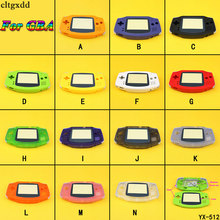 цены cltgxdd Housing Shell Pack for Gameboy Advance Case Cover Repair Part For GBA with Button