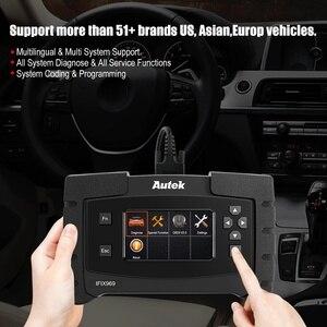Image 3 - Autek IFIX969 OBDII Автомобильный сканер подушка безопасности ABS SRS SAS EPB сброс масла TPMS профессиональная полная система ODB OBD2 диагностический инструмент
