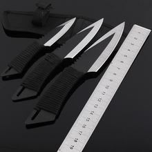 Hot Sale [ 3pcs/set ]  Fixed Blade Knife Survival Utility Camping Hunting Knife Outdoor Tool Knives & Sheath Free Shipping