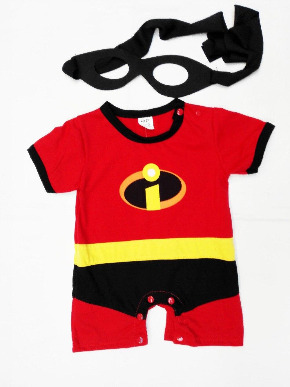 6 mesi-2 anni Del Partito Dei Bambini Fumetto Marvel Cattivissimo Costume di Halloween, boy Serventi rotolo gioco di abbigliamento/Super-latte fa Body e Tutine
