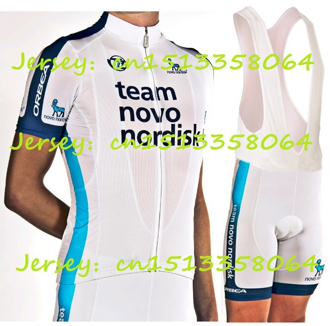 Team Novo Nordisk Cycling Jersey 2015 High quality short sleeve shorts+Bib  orbea Bicycle Clothing Cycling GEL Pad ropa ciclismo-in Cycling Jerseys  from ... 3bcbfa7f7