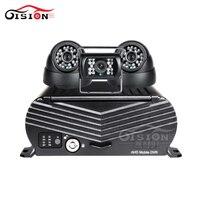 4CH 하드 디스크 달리 모바일 Dvr 키트 DHL 무료 배송 3 개 카메라 비디오/오디오 출력 사이클 기록 HDD 자동차 카메라 레코더 키트