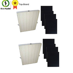 HEPA Filter Plus 4 Carbon Replacement Filter for Winix Air Cleaner 115115 Series Filtation Accessory Replacement 2 packs