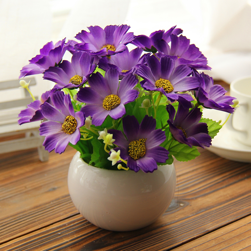 High Quality 5 Kinds Style Flower Vase Flowers Daisy