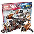 808 шт. Бела 10462 Оригинальной Коробке Подарки Набор Ниндзя Несчастье-Продолжать Строить Ллойд Джей Игрушки Совместимость С Lego