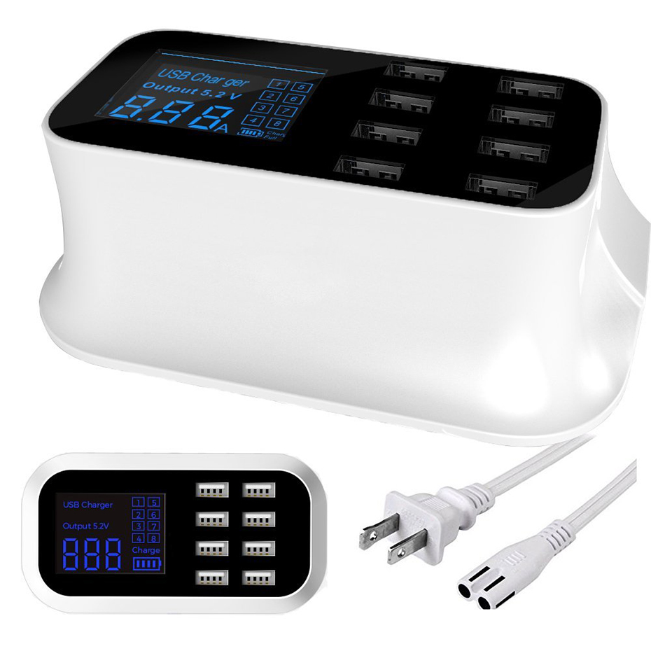 Excellent USB Charger Station for load several devices (10)