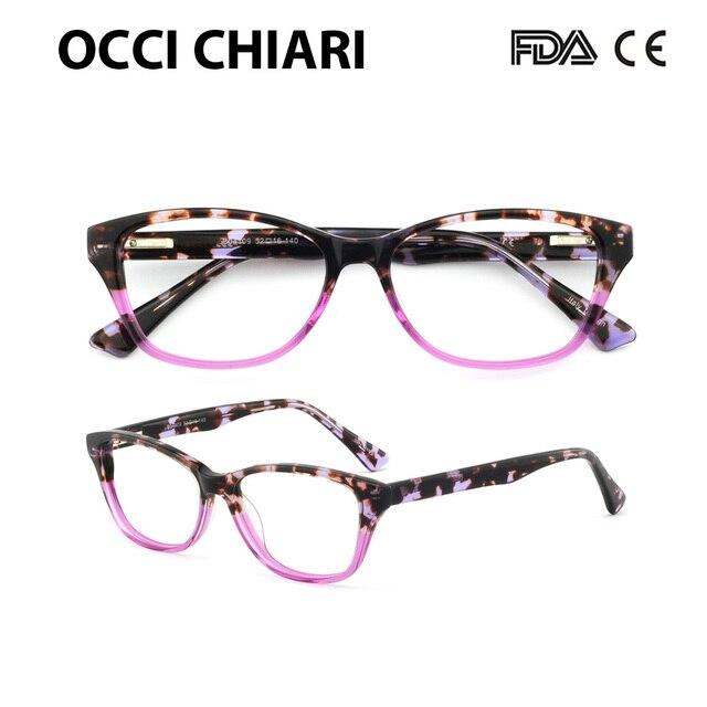 OCCI CHIARI 2018 Novas Mulheres Da Moda Óculos óculos de proteção Anti-azul  luz Óculos 446847fe57