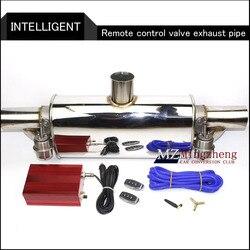 Dla lancer ex E63 + układ wydechowy ze stali nierdzewnej elektryczny układ wydechowy zawór odcinający z elektronicznym przełącznikiem zdalnego sterowania tłumik