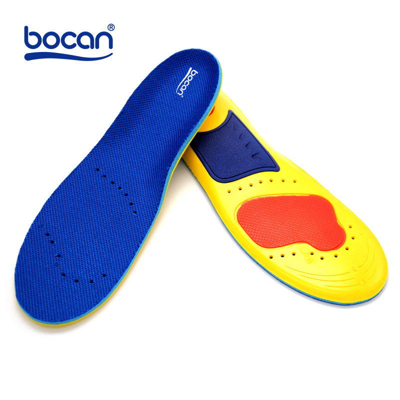 BOCAN Memory foam insoles shock absorption orthopedic insoles for men and women comfortable shoe insole