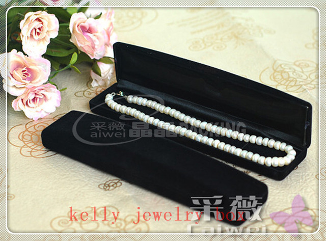 Hot Sale 10pcslot Luxury Black Velvet Jewelry Box Bracelet