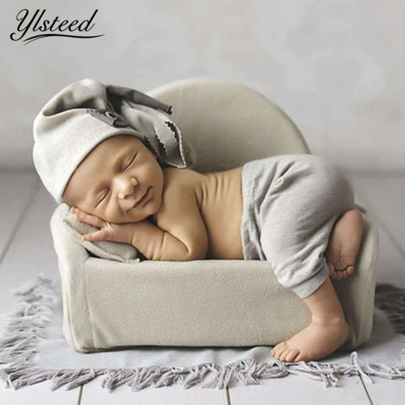 Newborn Photography Props Mini Posing Sofa Pillow Set Chair Decoration Baby Photography Accessories Infant Studio Shooting Props недорого