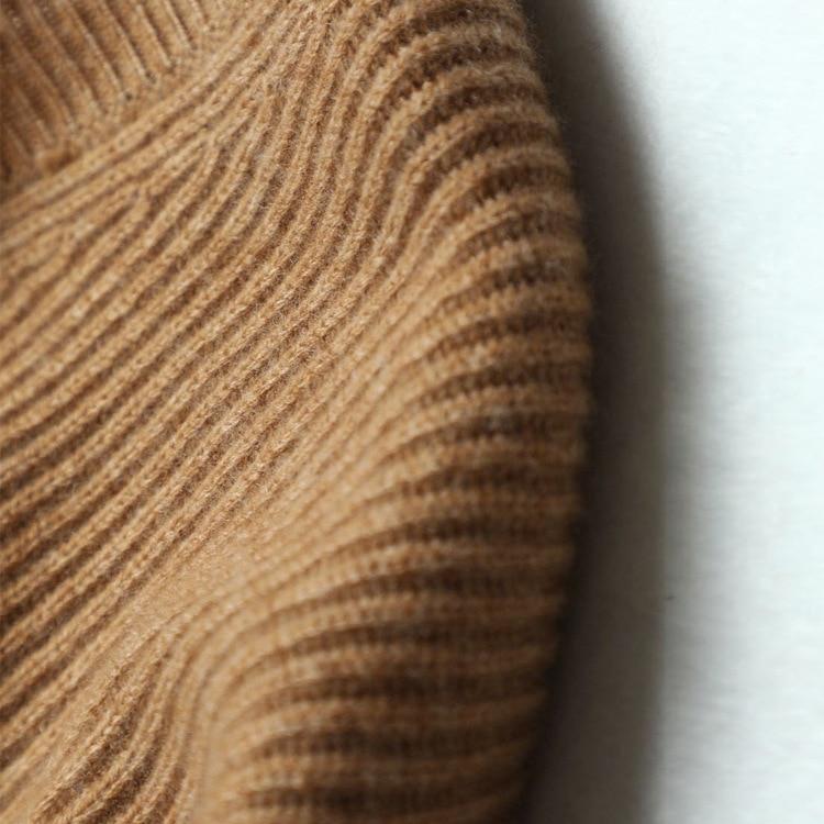 Mujer 17530 Cuello 17530 En Mujeres Para Suéteres Cachemira Manga 17530 Blanco Jersey Punto Suéter Cuartos Shuchan V Tres De Sólido 17530 5EqRnxw