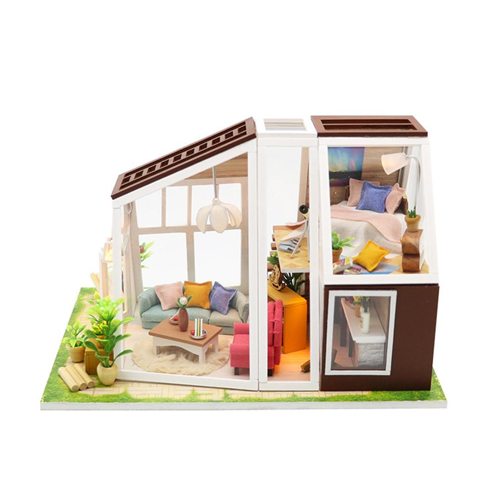 DIY Cottage Model Hand Assembled Birthday Gift Miniature Kit Adult Doll House