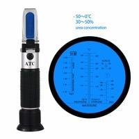 Concentração de congelação do refratômetro do glicol do líquido do motor de RHA-505ATC 4-em-1-50 optical 0c 30-35% de ureia atc