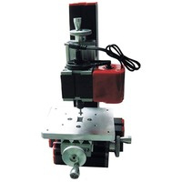 All Metal 6 in 1 Mini Lathe DIY Milling Drilling Tool Wood Turning Jag Saw and Sanding Combined Machine