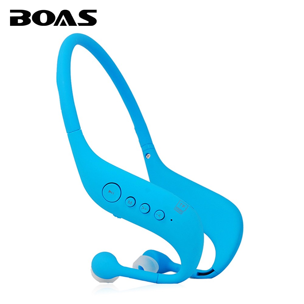 BOAS high quality LC 701 wireless outdoor sport headphones support TF card FM radio mp3 stereo