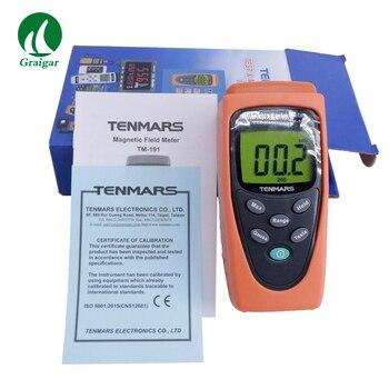 TM191 Portable EMF Tester Elektromagnetische Magnetic Field Meter-in Hoogte Meetinstrumenten van Gereedschap op