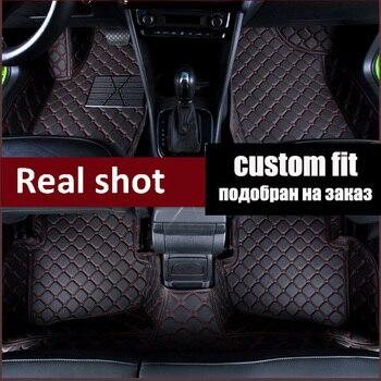 Car car floor mats for Toyota Avalon XX30 XX40 Corolla Prado RAV4 5D high quality perfect car-styling rugs