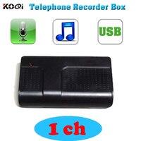 USB Digital Telephone Phone Call Voice Recorder PC