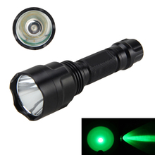 Tactical 5000Lm Q5 Green LED Flashlight Hunting Light Torch 1-Mode Lamps Light by 18650 Battery