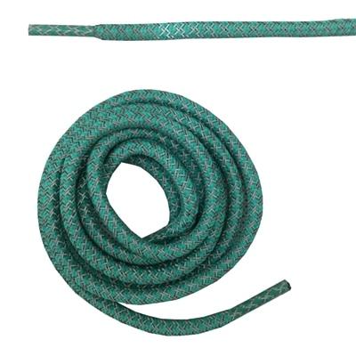 """Круглая веревка 3м Светоотражающие шнурки для ботинок бегуна видимые безопасные шнурки 14 цветов 4"""" /120 см - Цвет: mint"""