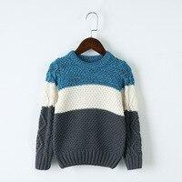 赤ちゃん男の子セータースプライス柄カジュアル秋暖かいニットセーター4 t-13 t子供服プルオーバーセーター幼児カーディガ