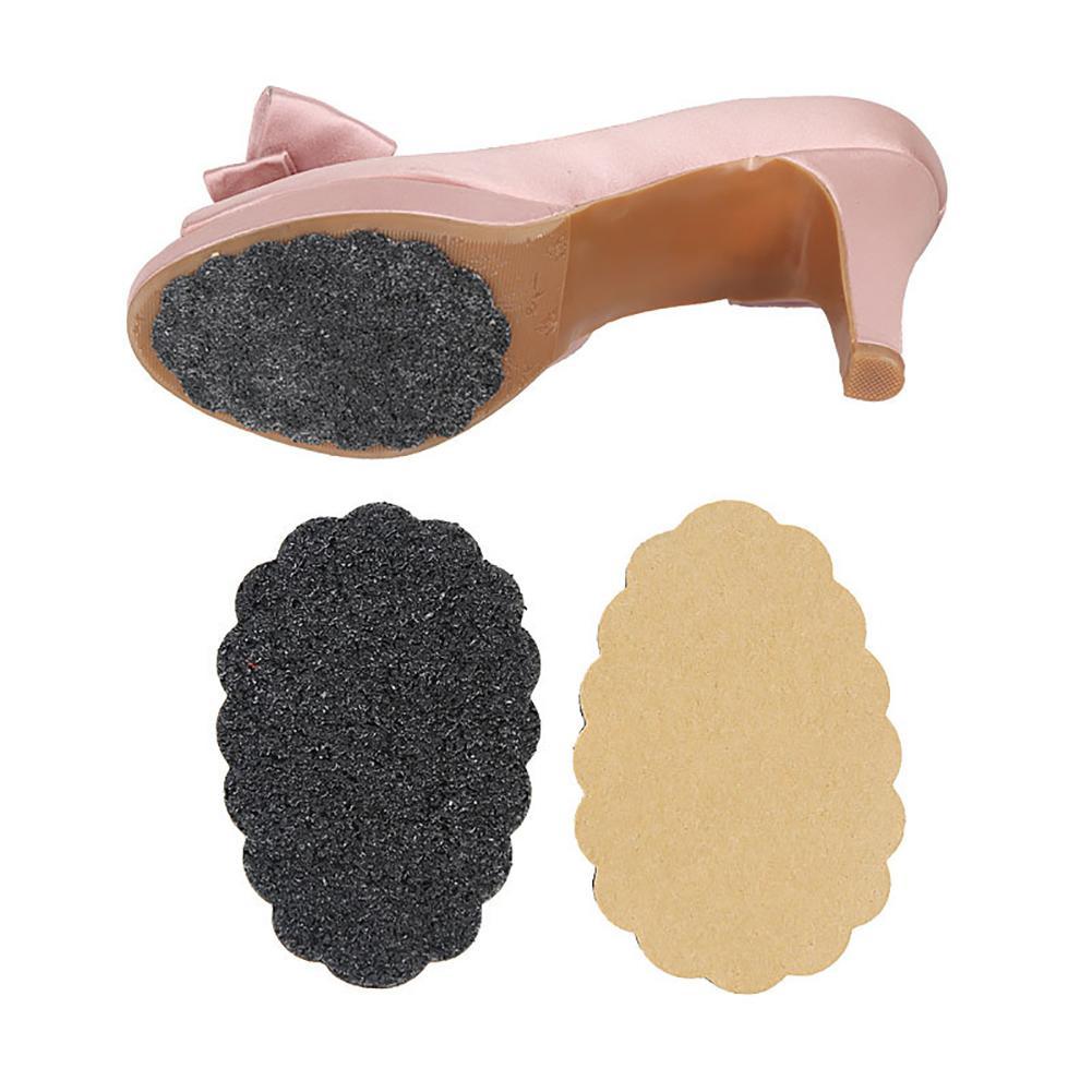 1 Para Anti-slip Matt Frauen High Heel Sandalen Schuhe Sohle Aufkleber Protector Frauen Gummi Anti-slip Schuhe Ferse Sohle