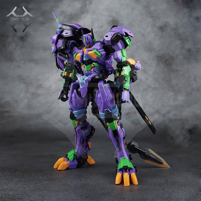 COMIC CLUB IN Stock neoart new version tf Transformation EVA lion leo robot op metal made