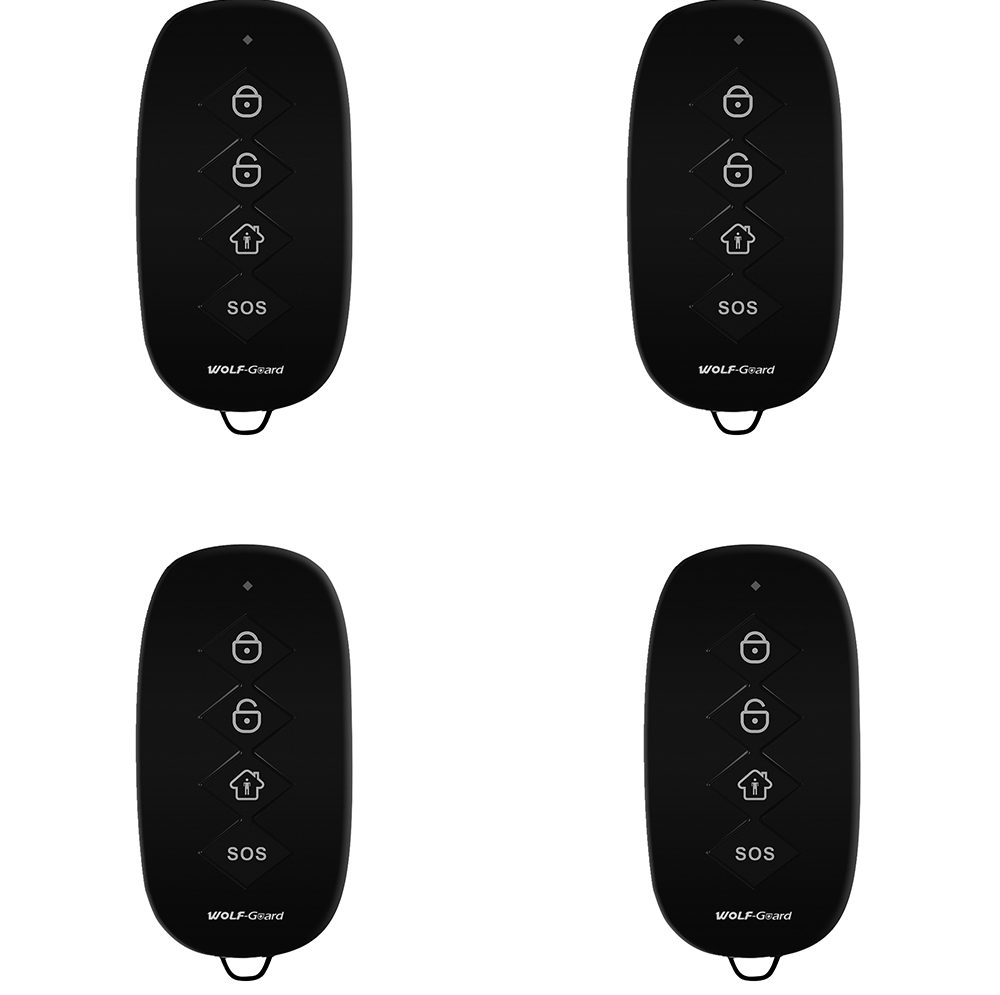 Wolf-Guard Remote-Control Wireless Home-Alarm 433mhz for Security-System YK-07A 4-Keys