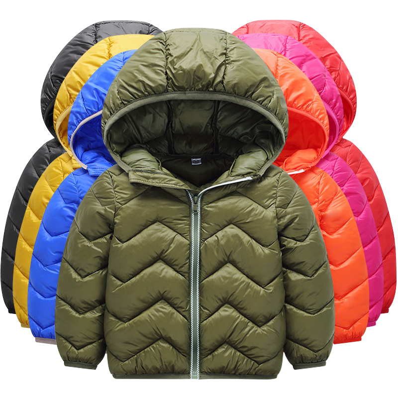 2018 Brand Children's jacket down jacket boys and girls winter cold warm hooded jacket children's coat thick coat
