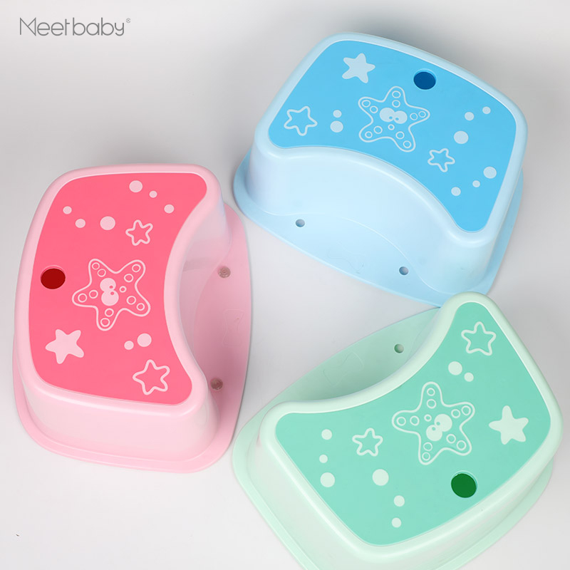 Children Multi-function Toilet Seat Foot Stool Childrens Stool Baby Anti-skid Stool Footstool Child Small Chair Bathroom Stool ubela multi function two line baby stool mother strap mint green