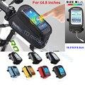 "4.8 ""universal para bicicleta teléfono impermeable del bolso del caso de montaje para iphone 5/5s/5c/se/4S/nokia lumia 520/526/510/530/620/600"