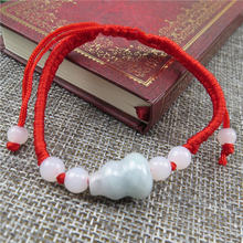 Этнический Плетеный Красный браслет ручной работы из 100% натурального