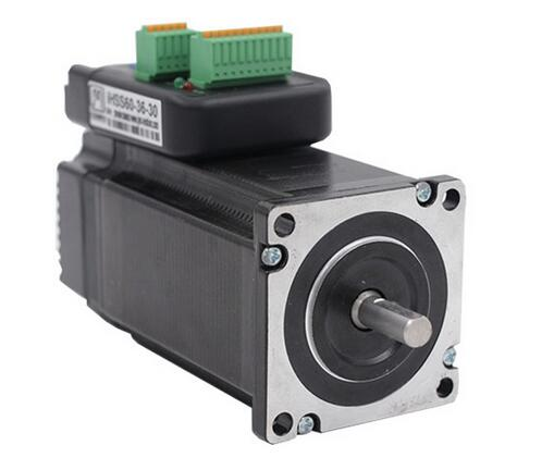 NEMA24 3Nm 425oz.in Integrated Closed Loop Stepper motor with driver 36VDC JMC iHSS60-36-30 3 phase nema42 20nm 2830ozf in closed loop stepper servo motor driver kit jmc 110j12190ec 1000 3hss2208h