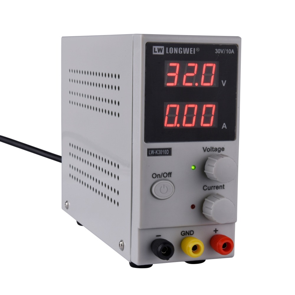 цена на LW-3010D 30V 10A Mini Adjustable LED Digital DC Power Supply Laboratory Switching Power Supply 110V 220V EU/AU/US Plug
