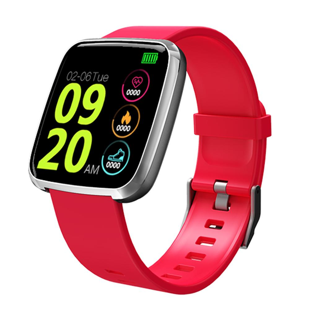 Smart Bracelet Fitness Tracker Color Screen Heart Rate Blood Pressure Waterproof Reminder Push Sports Watch WristbandSmart Bracelet Fitness Tracker Color Screen Heart Rate Blood Pressure Waterproof Reminder Push Sports Watch Wristband