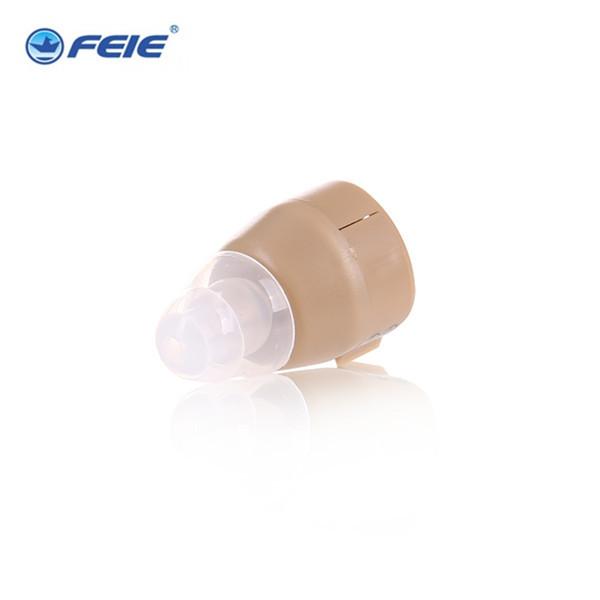 2 Pçs/lote Aparelhos Auditivos Na Orelha Para Ouvir As Pessoas Fracas Ear Proteção Auditiva Eletrônico S-85 comprado como um presente Da Gota grátis