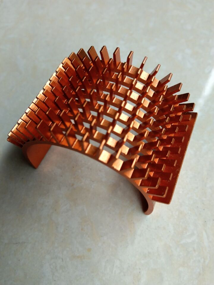 YUKALA <font><b>1/10</b></font> RC Car <font><b>accessories</b></font> rc car parts 540/550 motor Heatsink for 1:10 RC car orange/blue image