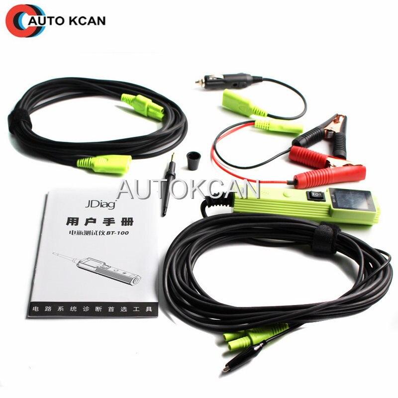 Meilleur JDiag BT-100 batterie système électrique testeur de Circuit BT100 outil de diagnostic automatique même que PS100 YD208 PT150 livraison gratuite