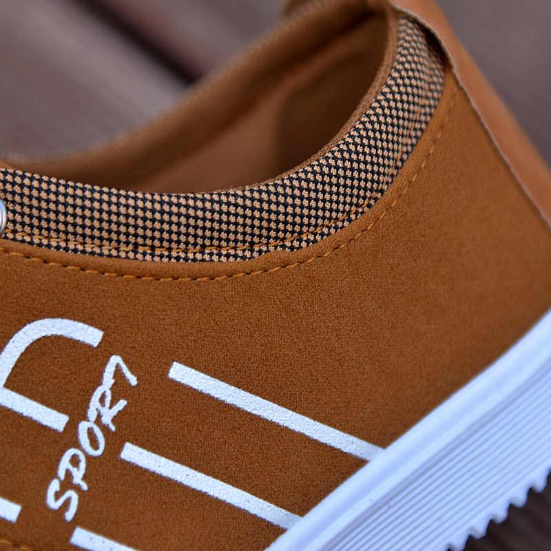 ยี่ห้อ Casual รองเท้า Breathable ผ้าใบรองเท้าผู้ชายแฟชั่น Espadrilles รองเท้าผู้ชายรองเท้าสบายๆรองเท้ากีฬารองเท้าผู้ชาย