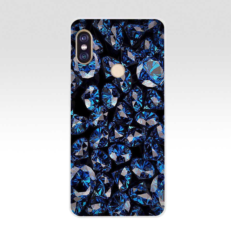 174FG topaz rubinowy kryształ hon miękkie silikonowe etui z termoplastycznego poliuretanu telefon obudowa do Xiaomi redmi 5A 5Plus uwaga 5 5A Pro
